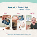 Load image into Gallery viewer, Pour Mix Serve Amara Infant Food Designed For Gentle Transition To Solid Foods