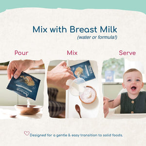 Pour Mix Serve Amara Infant Food Designed For Gentle Transition To Solid Foods