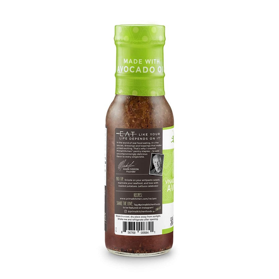 Mark Sisson Primal Kitchen Eat Like Your Life Depends On It Avocado Oil Italian Vinaigrette Marinade