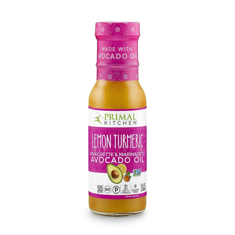 Primal Kitchen Lemon Turmeric Vinaigrette And Marinade 8oz