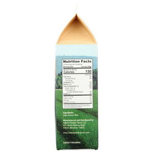 Ralston Family Farms Golden Light Brown Rice Nutrition Facts