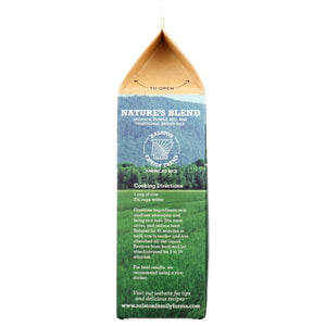 Ralston Family Farms Nature's Blend Aromatic Rice Recipe On Recyclable Box Carton