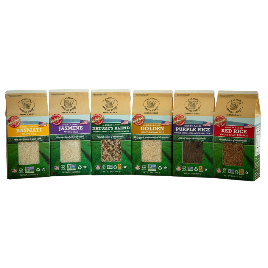 Ralston Family Farms Rice Variety Gluten Free Grains Non-GMO Rices