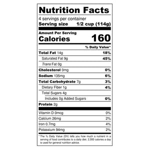 Yai's Thai Red Coconut Curry Nutrition Facts