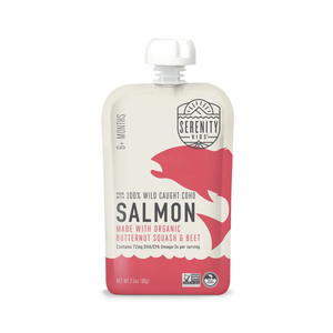 Serenity Kids Salmon With Organic Butternut & Beet 3.5oz