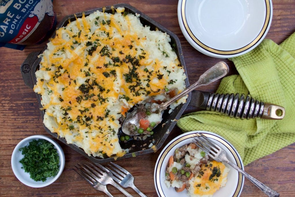 Shepherds Pie Recipe Using Grass Fed Beef Bone Broth From Bare Bones