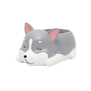 Terra Powders Adorable Animals Mini Planter Pot Sleepy Pet