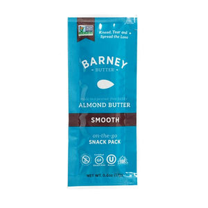 Barney Butter On The Go Snack Pack Size Smooth Almond Butter