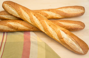 Fresh Baked French Baguettes From The Essential Baking Company