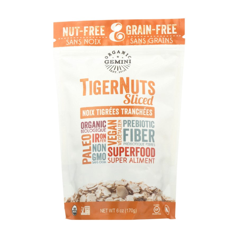 Gemini Organic Superfoods TigerNuts Sliced 6oz