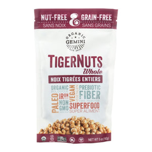 Gemini Organic Superfoods TigerNuts Whole 5oz