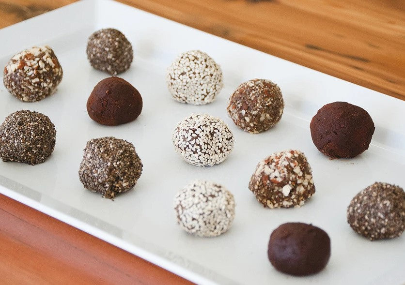 Delicious Power Balls Made With Organic Smoothie Powder