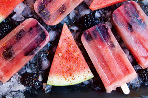 Watermelon And Blackberry Bone Broth Popsicles Inspirational Recipe From Bare Bones 100 Percent Grass Fed Beef Broth