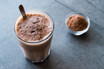 Load image into Gallery viewer, Terra Powders Chocolate Smoothie Made With Golden Cocoa Powder