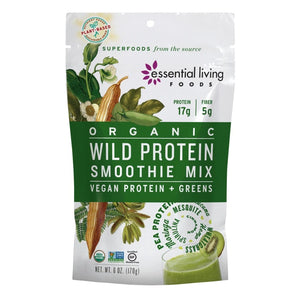 Essential Living Foods Organic Wild Protein Smoothie Mix 6oz
