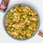 Load image into Gallery viewer, Asian Stir Fry Meal With Veggies And Creamy Almond Sauce Yais Thai