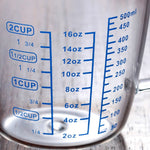 Load image into Gallery viewer, Glass Measuring Cup With Pour Spout