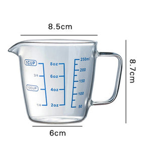 Glass Measuring Cup With Pour Spout