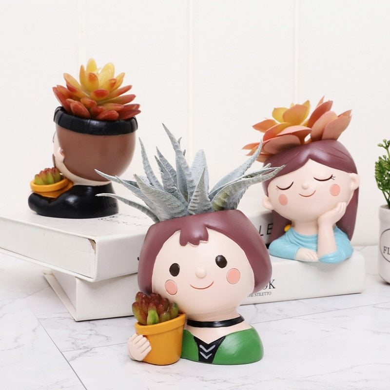 Happy People Mini Plant Pots For Garden Lovers