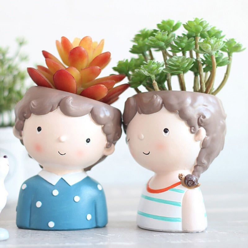 Indoor Pots For Mini Plants Happy People Garden Lovers