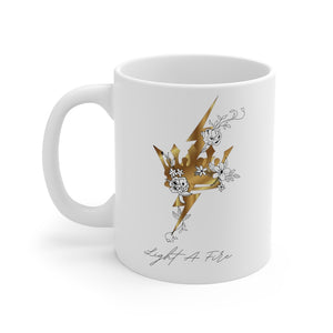 Blooming Fire Mug 11oz