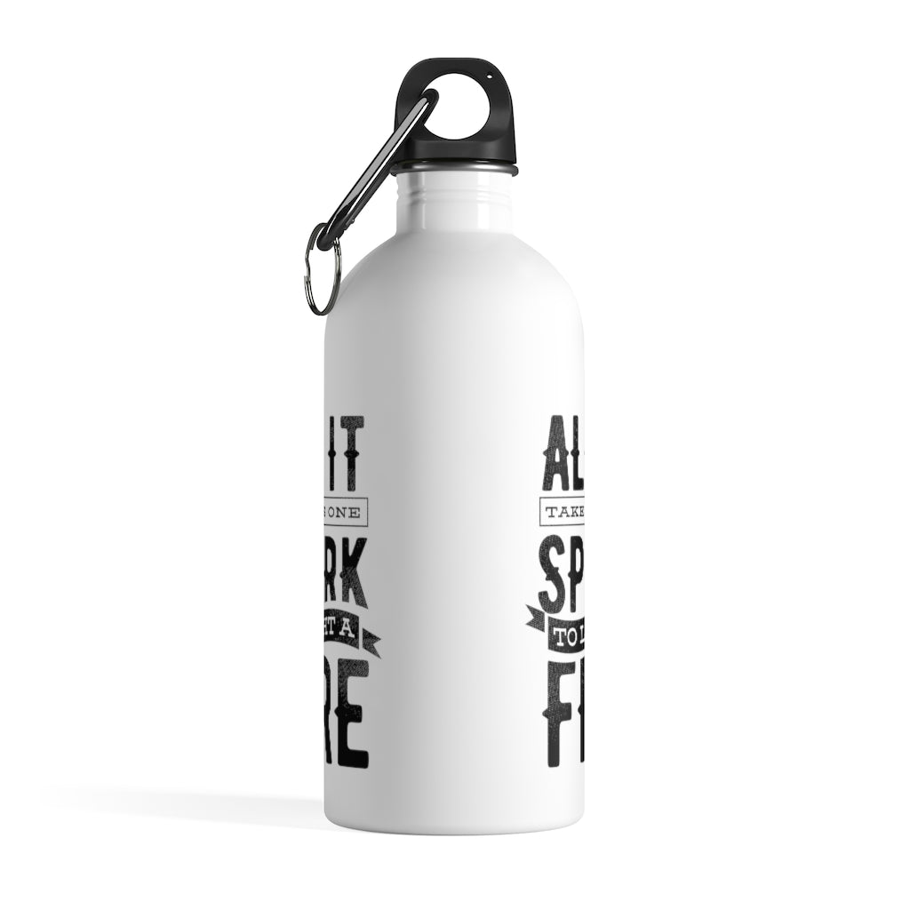 All It Takes Stainless Steel Water Bottle