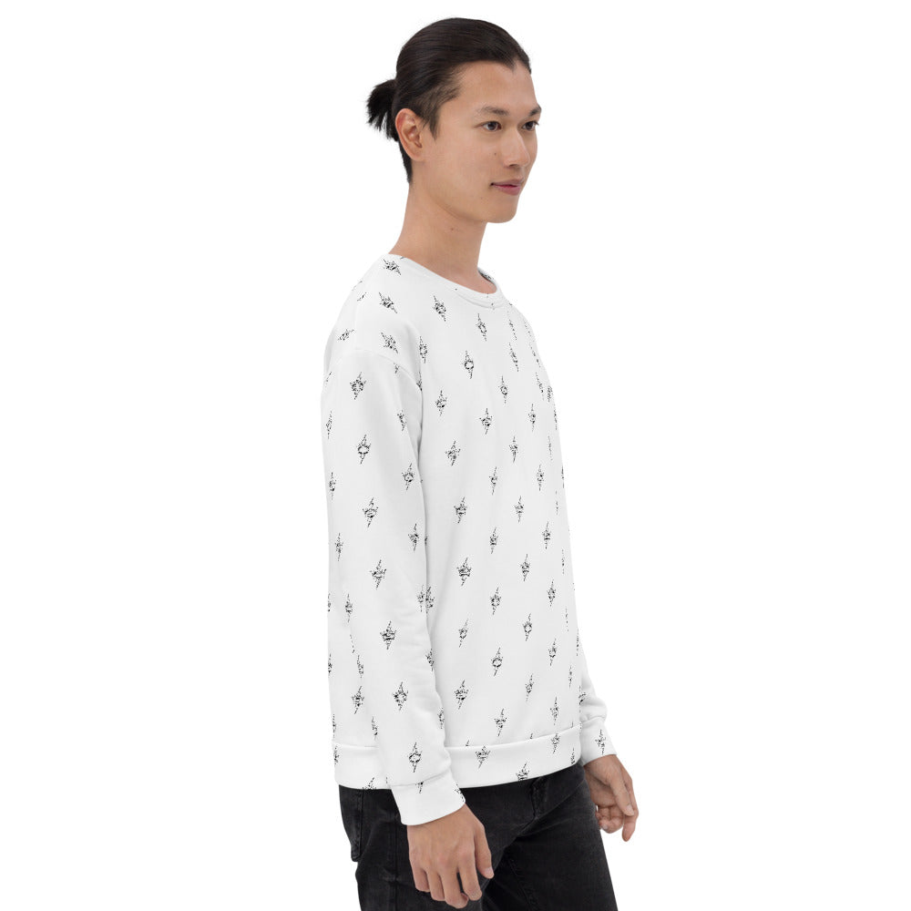 LAF ALL OVER BASICS Unisex Sweatshirt