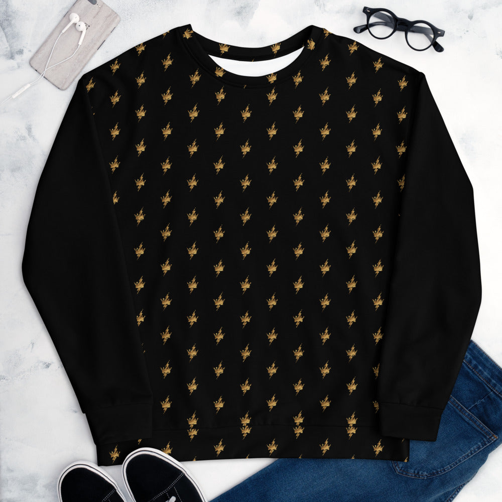 ALL OVER GOLD Unisex Sweatshirt