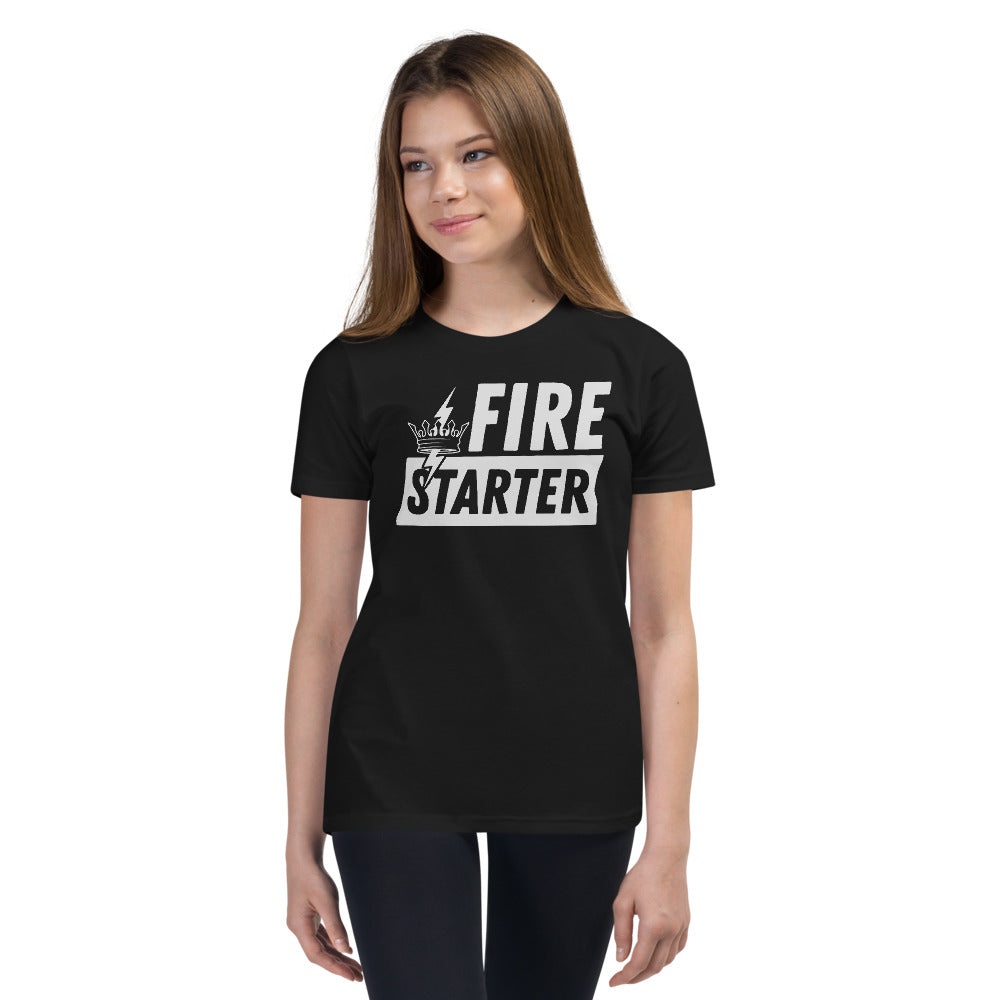 Youth FIRESTARTER Tee (Black)