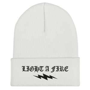 OG LIGHT A FIRE Cuffed Beanie