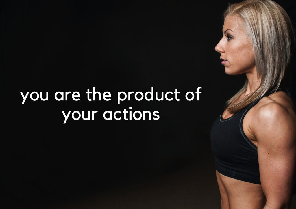 Tearapy fit model, motivational quote