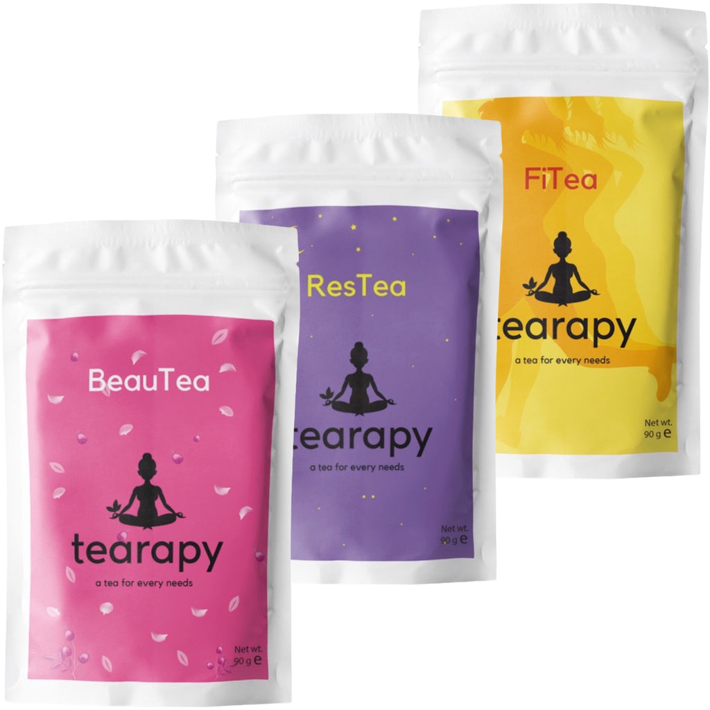 tearapy Women's healthy tea pack complexion tea weightloss tea sleeping tea natural tea