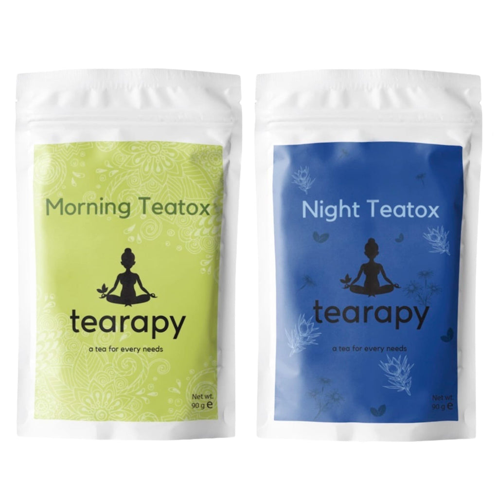 tearapy detox weightloss tea pack natural teatox grteen herbal tea blend