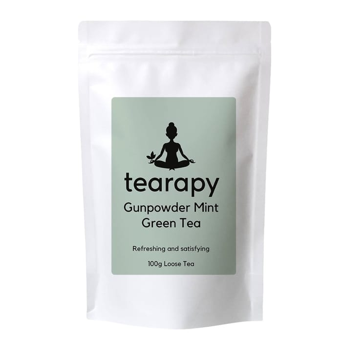 tearapy Gunpowder Mint Green Tea 100g loose leaf tea