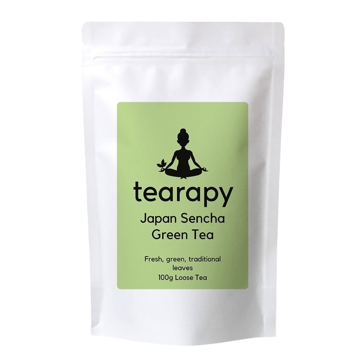 tearapy Premium Sencha Green Tea 100g loose leaf tea