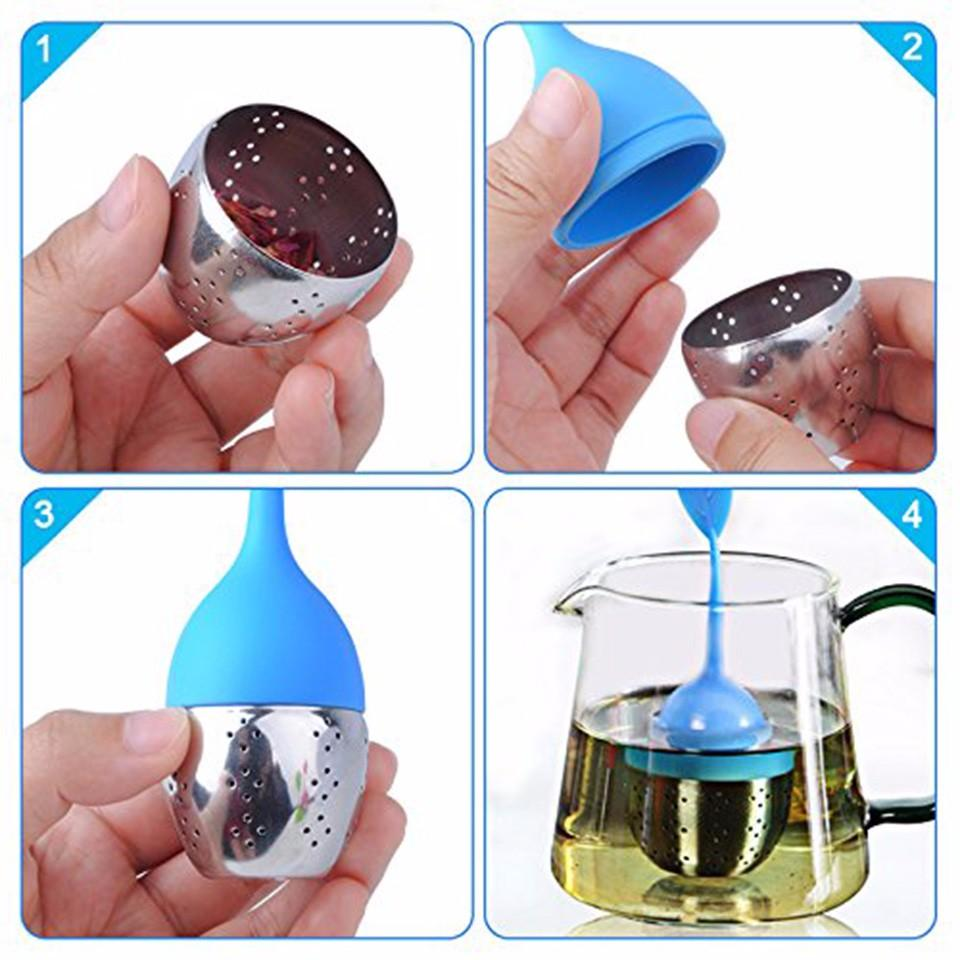 tearapy leaf shaped silicone tea infuser user instructions