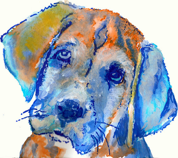 Labrador art print, Labrador wall art, Labrador gift, Labrador Puppy, dog mom, gift for dog owner, Labrador Dog art, dog art, dog portrait - Dog portraits by Oscar Jetson