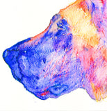 Great Dane Dog watercolor print dog painting wall art Print colorful art Great Dane gift idea Great dane painting Great Dane print - Dog portraits by Oscar Jetson - 3