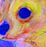 Chihuahua Abstract Painting Print Chihuahua dog art print Artist Signed Colorful Chihuahu lover Art Dog painting Chihuahua dog art print - Dog portraits by Oscar Jetson - 2