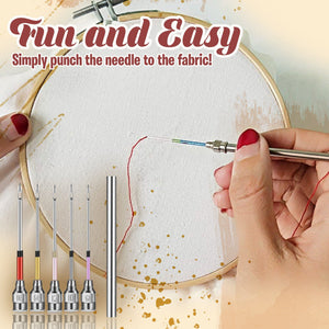 Punch Embroidery Starter Kit