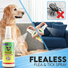 Load image into Gallery viewer, Flealess Flea & Tick Spray
