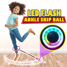 Load image into Gallery viewer, LED Flash Ankle Skip Ball