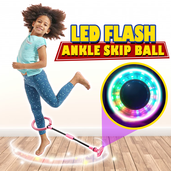 LED Flash Ankle Skip Ball