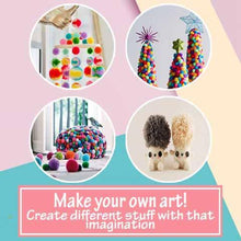 Load image into Gallery viewer, DIY PomPom Maker Mat Knitting Set