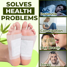 Load image into Gallery viewer, Premium Herbal Detox Foot Pads (Set of 10) - 7Days Detox!