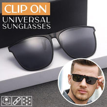 Load image into Gallery viewer, Clip On Universal Sunglasses outdoorpinata Black