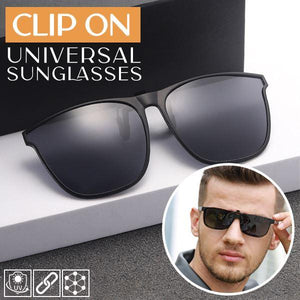 Clip On Universal Sunglasses outdoorpinata Black