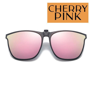 Clip On Universal Sunglasses outdoorpinata Cherry Pink