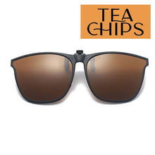 Load image into Gallery viewer, Clip On Universal Sunglasses outdoorpinata Tea Chips