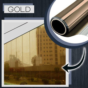 Heat Insulation Privacy Film 88mallonline 40x100 Gold
